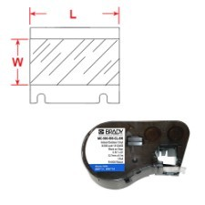 BRADY Band für BMP41/BMP51/BMP53 Etikettendrucker MC-500-595-CL-WT 143391