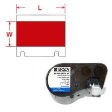 BRADY Band für BMP41/BMP51/BMP53 Etikettendrucker MC-500-595-RD-WT 143399