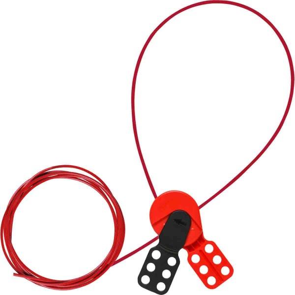 BRADY SAFELEX Universelle Kabelverriegelung–Nylonkabel, 3m SAFELEX LO W/ 10FT NYLON CABLE 145549