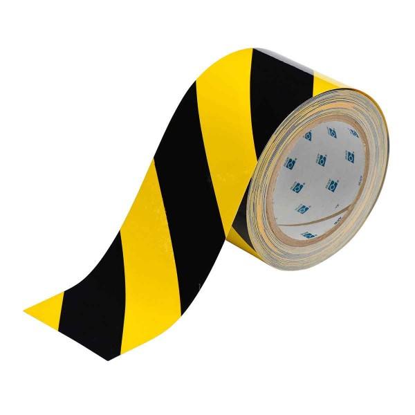 BRADY Bodenmarkierung - 76,2mm Schwarze und Gelbe Toughstripe Polyester TOUG2 YLBK 104347