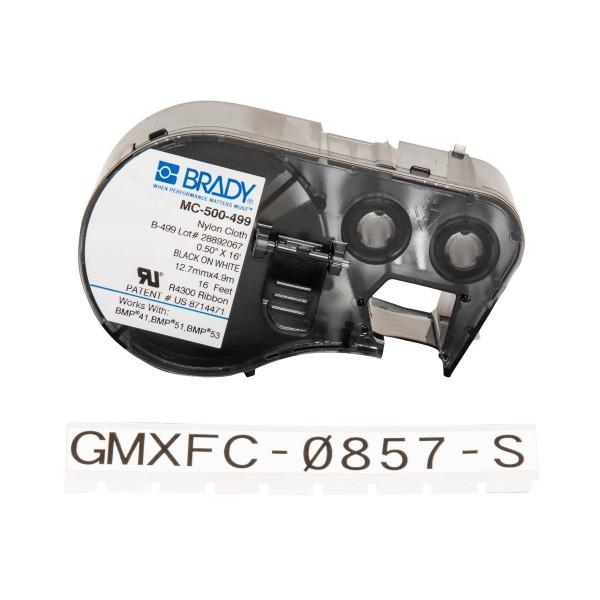 BRADY Etiketten für BMP41/BMP51/BMP53 Etikettendrucker MC-500-499 143351