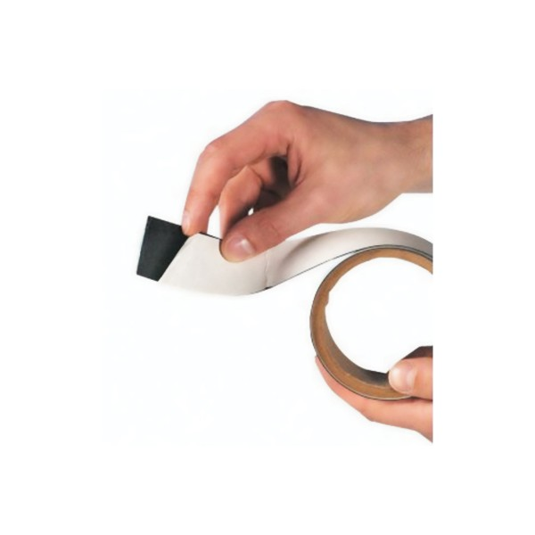 BRADY Metallisches Magnet-Klebeband, 30mm x 10m Magnetic Metallic Adhesive Tape 30mmx10m 196206