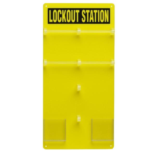 BRADY Lockout-Tafel - 20 Personen LOCKOUT STATION 20-LOCK PADLOCK BOARD 50991