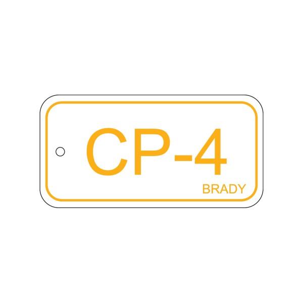 BRADY Anhänger für Energiequellen–Bedienfeld ENERGY TAG-CP-4-75X38MM-PP/25 138732