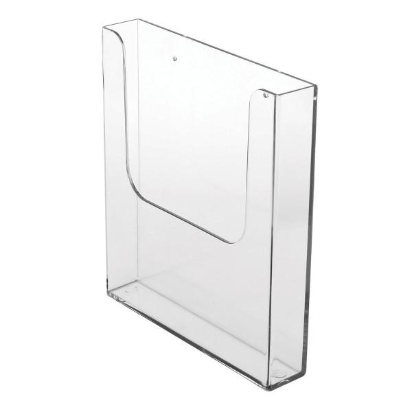 BRADY A4-Dokumenthalter zur Wandbefestigung, Hochformat WALL DOC HOLDER A4 1CPT 231X249X40 196195