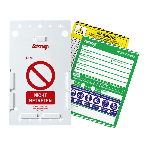 BRADY Entrytag-Set ENT-DE-ETI-V2-A 136570