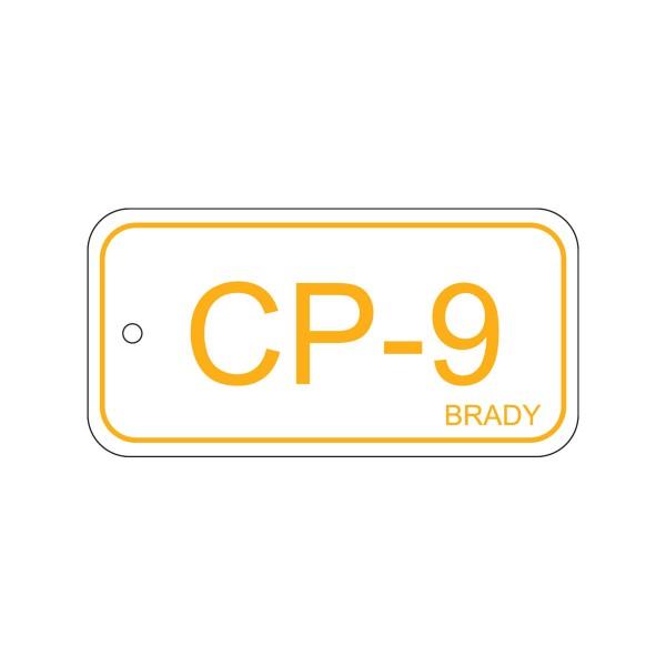 BRADY Anhänger für Energiequellen–Bedienfeld ENERGY TAG-CP-9-75X38MM-PP/25 138737