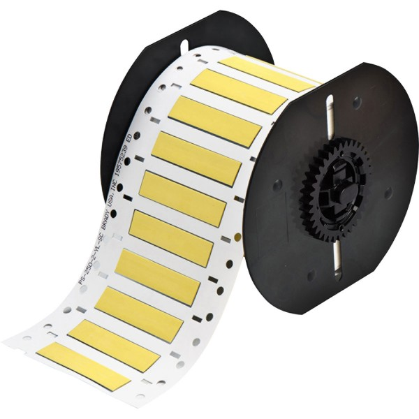 BRADY PermaSleeve Schrumpfschläuche aus Polyolefin für die Drucker BBP33/i33 B33-250-2-342YL 142930