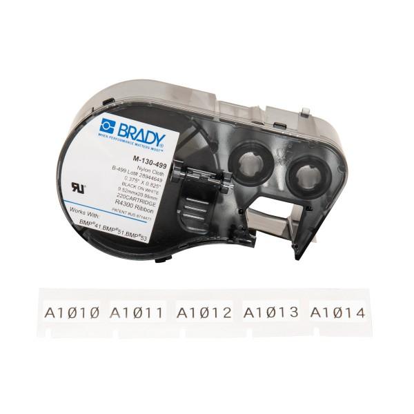 BRADY Etiketten für BMP41/BMP51/BMP53 Etikettendrucker M-130-499 143348