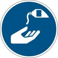 199115 - ISO Sicherheitskennzeichnung - Handschutzmittel benutzen