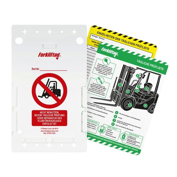 BRADY Forkliftag-Set FLT-DE-ETI-51-V2-A 138383