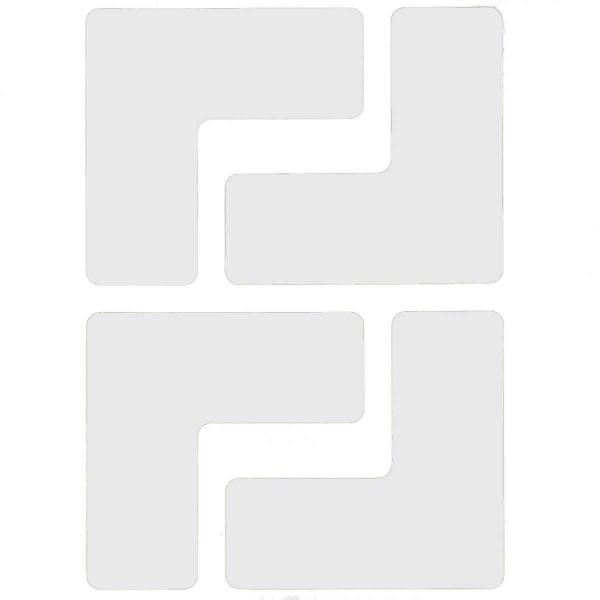 BRADY Eckemarkierung - Ls - 50,8mm x 127mm Weisse Toughstripe Floor Marking TOUL1 WHT 104435