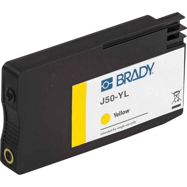 BRADY Tintenpatrone für den BradyJet J5000-Drucker auf Basis von gelben Pigm J50-YL 148764