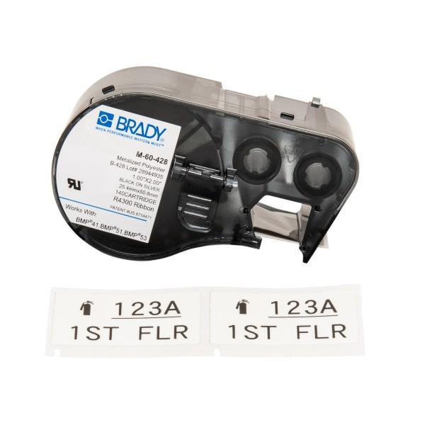 BRADY Etiketten für BMP41/BMP51/BMP53 Etikettendrucker M-60-428 131603