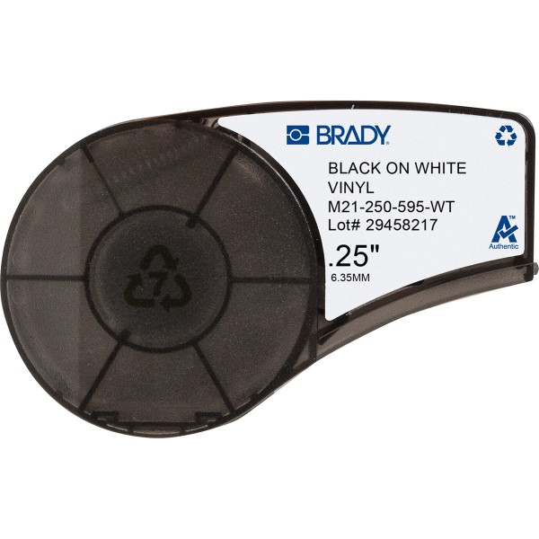 BRADY Bänder für den tragbaren Drucker BMP21-PLUS und BMP21-LAB M21-250-595-WT 139744