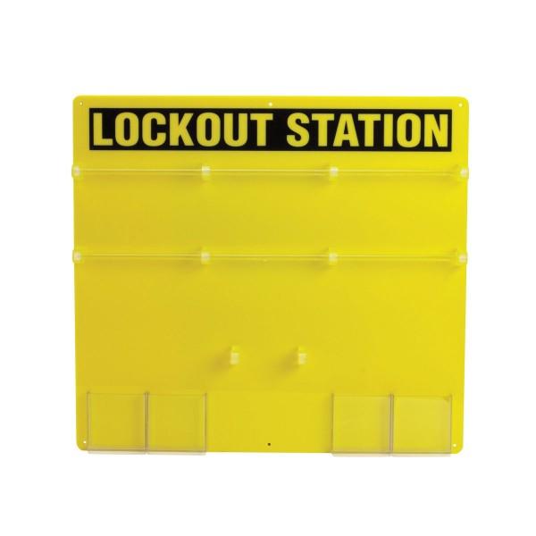 BRADY Lockout-Tafel - 36 Personen LOCKOUT STATION 36-LOCK PADLOCK BOARD 50992
