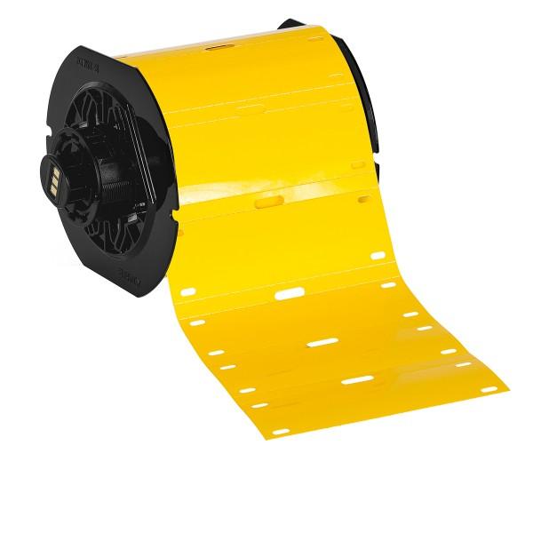 BRADY Polyester-Kabelanhänger für die Drucker BBP33/i3300 B33-75X25-7598-YL 197561