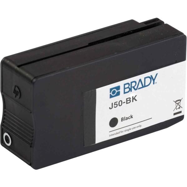 BRADY Tintenpatrone für den BradyJet J5000-Drucker auf Basis von schwarzen P J50-BK 148766