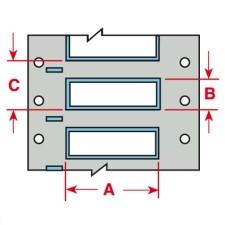 BRADY PermaSleeve Schrumpfschläuche zur Kabelkennzeichnung PS-375-150-WT-3 104684