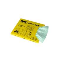 BRADY SPILL BOX, Chemikalien, gefüllt mit 10Tüchern SA-SBH 813910