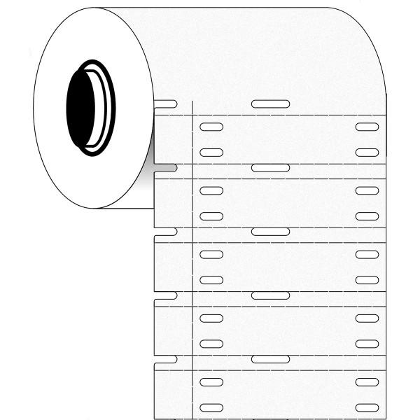 BRADY Polypropylen-Anhänger für die Drucker BBP33/i3300 B33-7597W-2050 361701