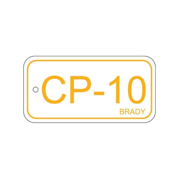 BRADY Anhänger für Energiequellen–Bedienfeld ENERGY TAG-CP-10-75X38MM-PP/25 138738