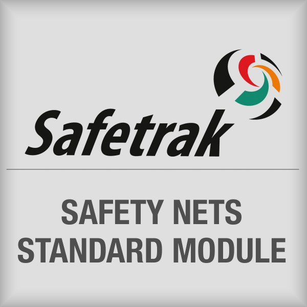 BRADY SafeTrak-Standardmodul für Sicherheitsnetze SAF-MOD-SAN-SUB 197645