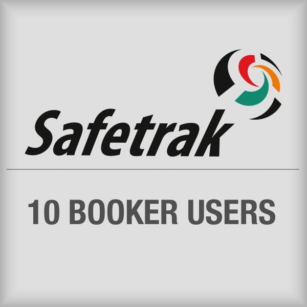 BRADY SafeTrak-Paket für 10Buchungsanwender SAF-BKR-SUB10 197622