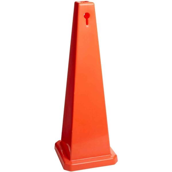 BRADY Brady-Kegel - Orange Kegel - Blanko - 89 cm CONE-4SIDE-35H-ORANGE-BLANK 77204