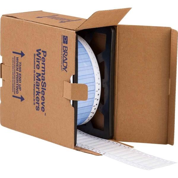 BRADY PermaSleeve Schrumpfschläuche zur Kabelkennzeichnung PS-250-2-WT-3 104691