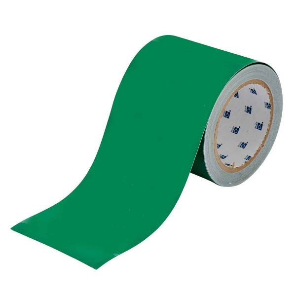 BRADY Bodenmarkierung - 101,6mm Grüne Toughstripe Polyester TOUG3 GRN 104375