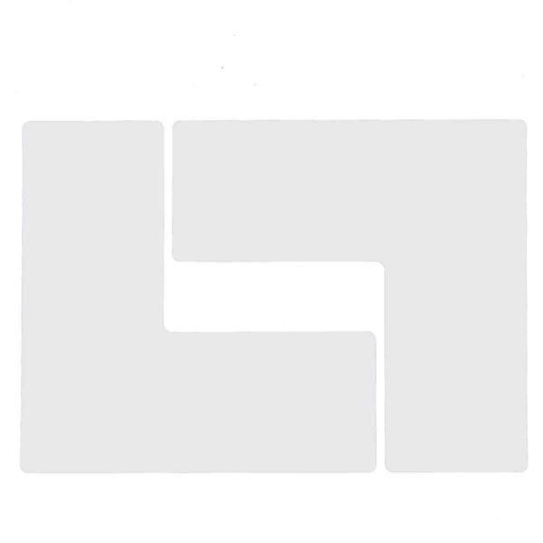BRADY Eckemarkierung - Ls - 101,6mm x 254mm Weisse Toughstripe Floor Marking TOUL3 WHT 104459