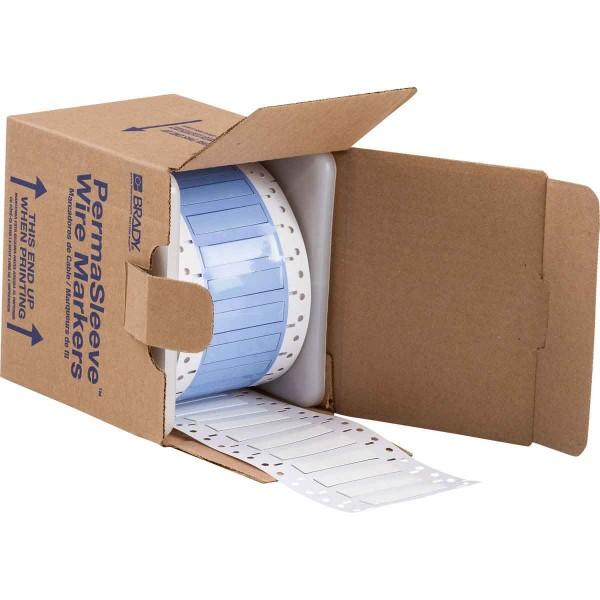 BRADY PermaSleeve Schrumpfschläuche zur Kabelkennzeichnung PS-250-2-WT-S-4 104665