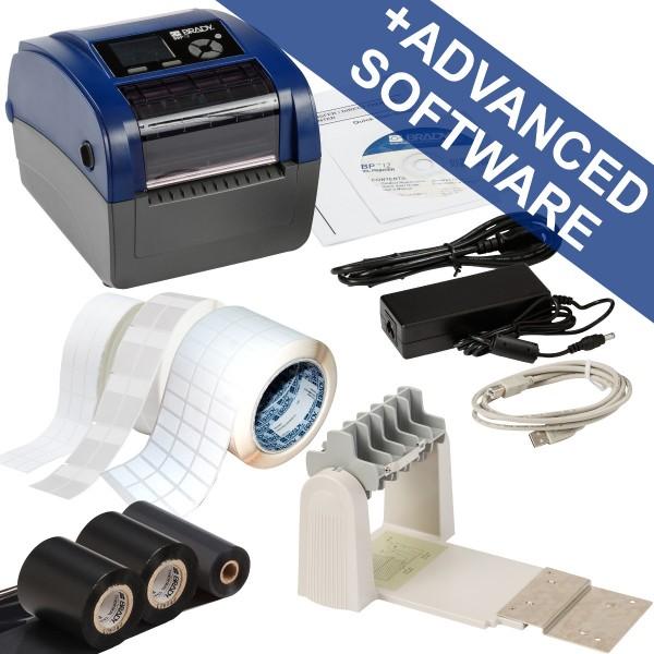 BRADY BBP12Etikettendrucker, 300dpi–Set für die Datenkommunikation–US BBP12-DATA KIT-US 198590