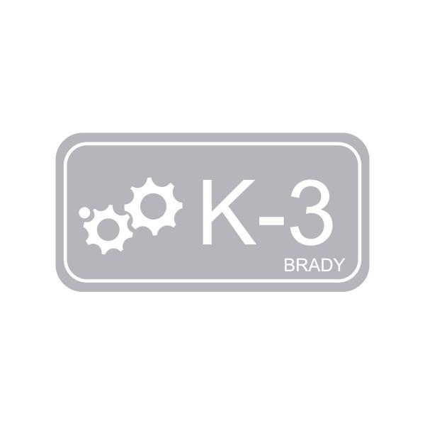 BRADY Anhänger für Energiequellen–Kinetik ENERGY TAG-K-3-75X38MM-PP/25 138433