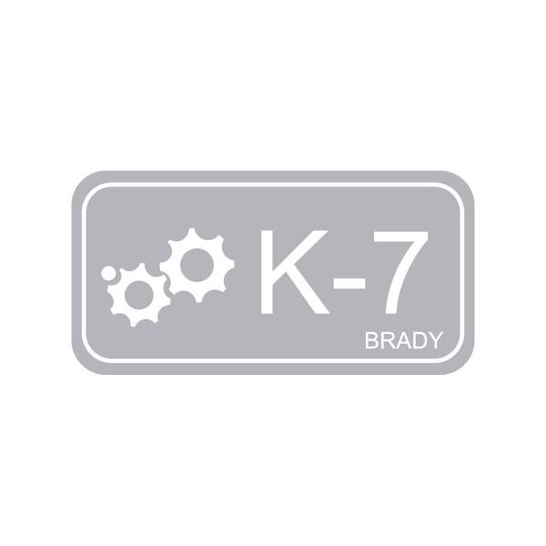 BRADY Anhänger für Energiequellen–Kinetik ENERGY TAG-K-7-75X38MM-PP/25 138776