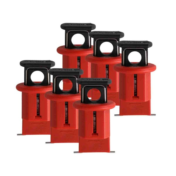 BRADY Miniatur-Verriegelungssystem für Schutzschalter, Typ POW ELEC. CIRCUIT BREAKER L/O EURO POW PK