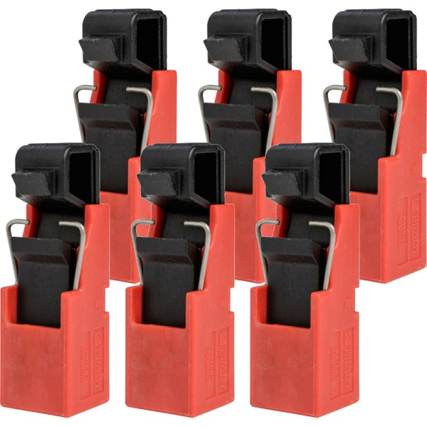 BRADY TagLock Schutzschalter-Verriegelung: Standardschalter–50/Paket TAGLOCK SWITCH W/HOLE CIRCT B
