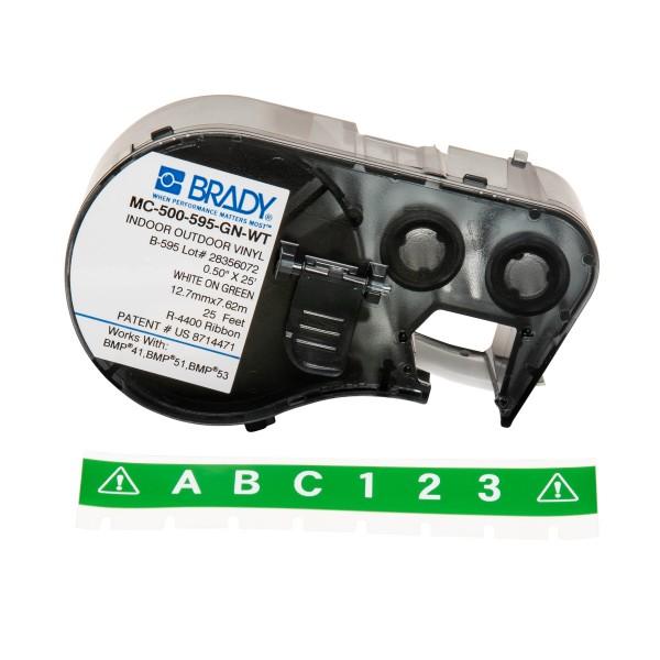 BRADY Band für BMP41/BMP51/BMP53 Etikettendrucker MC-500-595-GN-WT 143395