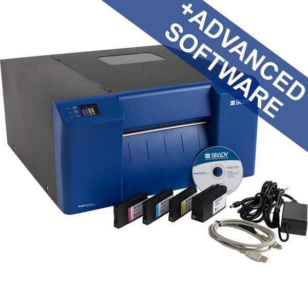 BRADY BradyJet J5000Farbetikettendrucker–US, mit Brady Workstation-Suite J5000-US-SFIDS 198574