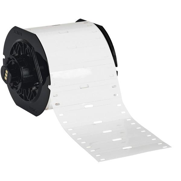 BRADY Polyester-Kabelanhänger für die Drucker BBP33/i3300 B33-75X15-7598-WT 197553