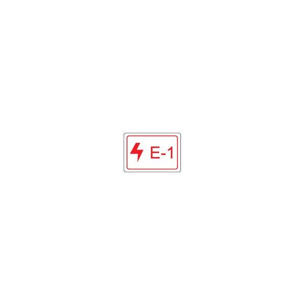BRADY Etikett für Energiequellen–Elektrik ENERGY TAG-E-1-19X13MM-SA/100 138452