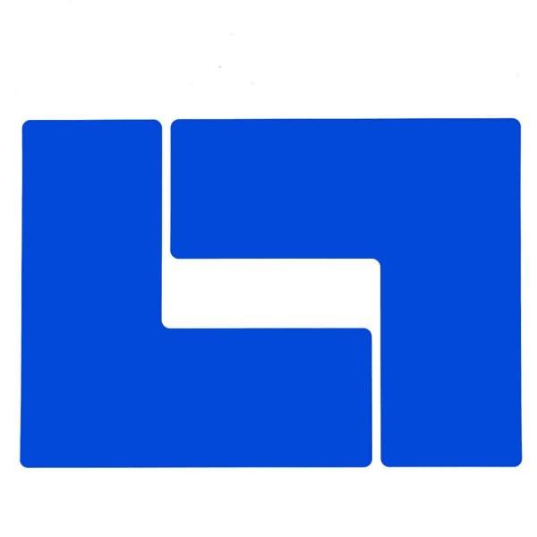 BRADY Eckemarkierung - Ls - 101,6mm x 254mm Blaue Toughstripe Floor Marking BLUE B-514 FLOOR LS 101,