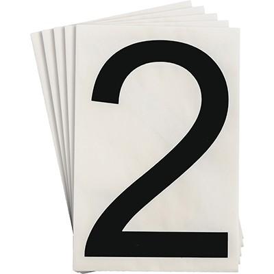 121859 - Vorgestanzte ToughStripe Zahlen und Buchstaben