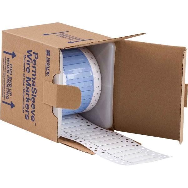 BRADY PermaSleeve Schrumpfschläuche zur Kabelkennzeichnung PS-187-2-WT-S-4 104662