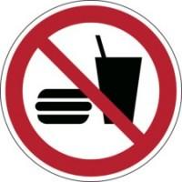 235213 - ISO Sicherheitskennzeichnung - Essen und Trinken verboten