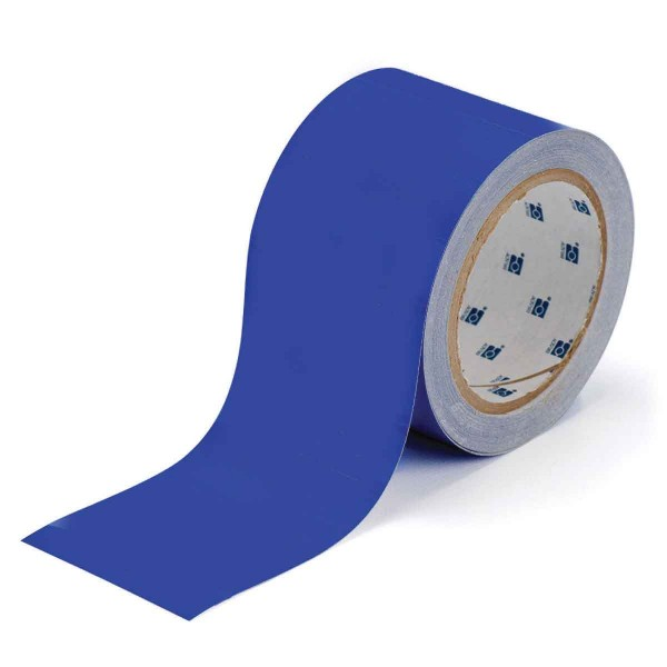 BRADY Bodenmarkierung - 50,8mm Blaue Toughstripe Polyester BLUE FLOOR TAPE 50,8 X 30 104314