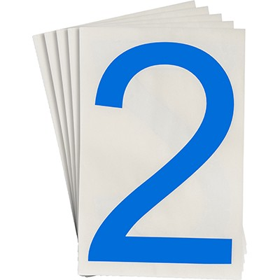 121863 - Vorgestanzte ToughStripe Zahlen und Buchstaben