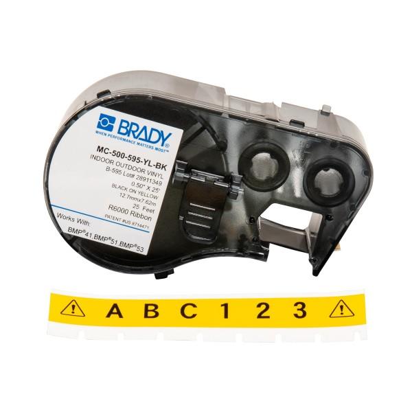 BRADY Band für BMP41/BMP51/BMP53 Etikettendrucker MC-500-595-YL-BK 143375