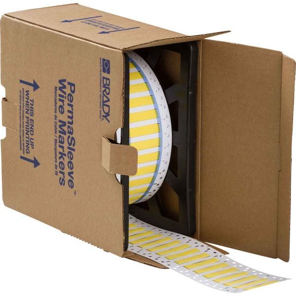 BRADY PermaSleeve Schrumpfschläuche zur Kabelkennzeichnung 3PS-250-2-YL-2 104700